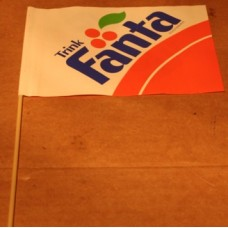 Small Paper Flag Sign, Trink Fanta