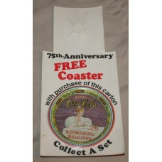 75th Anniversary FREE COASTER, Free With 6-Pack Purchase, Campbellsville Bottler