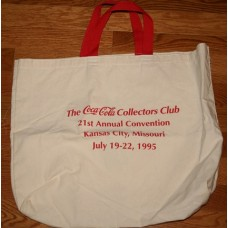 Coca-Cola Collectors Club - KC Convention 1995 - Tote Bag