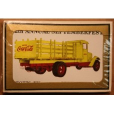 1988 Coca-Cola Convention Playing Cards - 12th Annual Septemberfest, E-Town, Yellow Truck