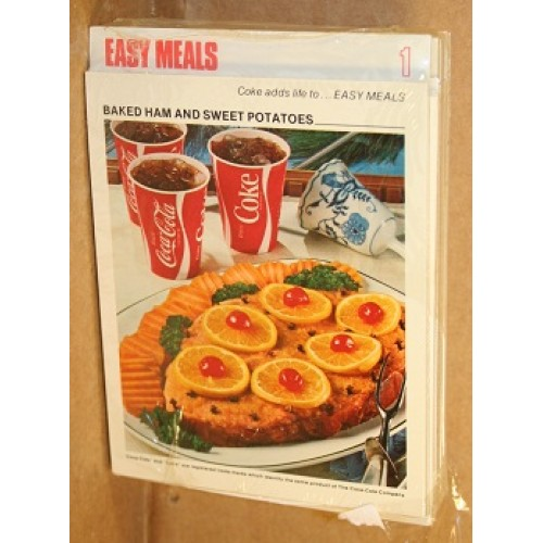 Recipe cards for coca cola recipe box coke adds life to cooking forumfinder Choice Image