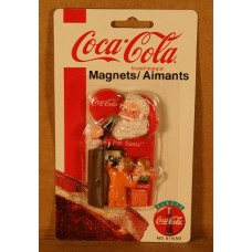 Magnet, Coca-Cola Christmas, For Santa At Refrigerator, On card