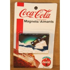 Magnet, Coca-Cola, Bottle On Iceberg, New On Card