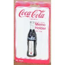 Magnet, Coca-Cola, Bottle Thermometer, On Card