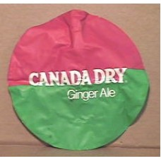 Inflatable Seat Cushion, Canada Dry Ginger Ale
