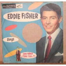 Record Sleeve, Eddie Fisher, 1940s, 78 RPM