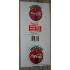 Always Coca-Cola Magnetic Note Pad, With Magnet
