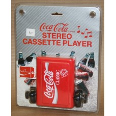 1989 Coca-Cola Walkman Style Stereo / Cassette Player