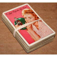 1961 Coca-Cola Playing Cards - Complete Deck, No Box