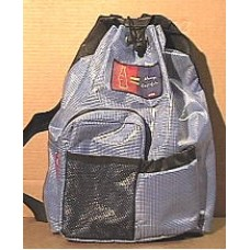 Backpack, Coca-Cola, Blue and Black