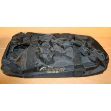 Coca-Cola Duffel Bag, Black Nylon With Enjoy Coca-Cola Logo